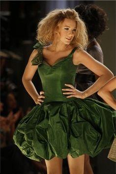 Cute on the runway. Serena van der Woodsen