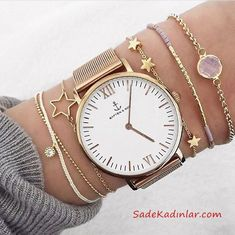 Add Style to Your Combinations with Bracelet Watch Models .- Bileklik Saat Modelleri İle Kombinlerinize Tarz Katın Add Style to Your Combinations with Bracelet Watch Models financing the - Jewelry Accessories, Fashion Accessories, Jewelry Design, Fashion Jewelry, Women Jewelry, Cheap Bracelets, Silver Bracelets, Ankle Bracelets, Silver Earrings