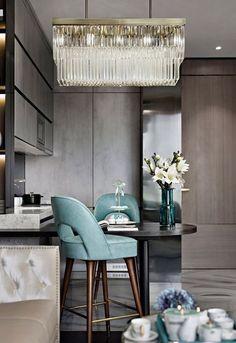 Top Home Luxury Interior designers les plus . Dining Room Design, Interior Design Kitchen, Room Interior, Interior Decorating, Luxury Homes Interior, Luxury Home Decor, Neoclassical Interior, Contemporary Interior, Interior Inspiration