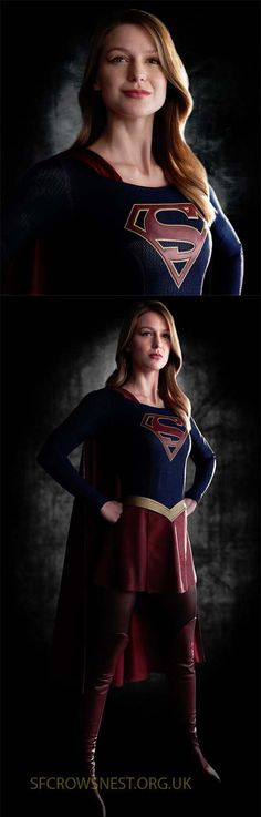 The first pics out of the coming Supergirl TV series