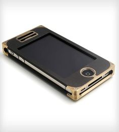Brass & Black Composite iPhone case. I freaking love this.