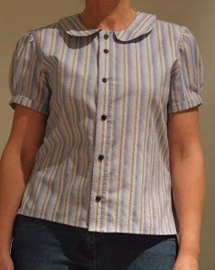 Little Blue Mouse: upcycled mens shirt