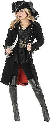 black punk Pirate Captain Costume women adult party cosplay halloween costumes for women pirate costume women y hat Alternative Measures - Alternative Measures - - 1 Adult Pirate Costume, Pirate Hats, Adult Costumes, Pirate Costumes, Diy Pirate Costume For Women, Pirate Clothes, Pirate Dress, Pirate Wedding Dress, Pirate Outfits