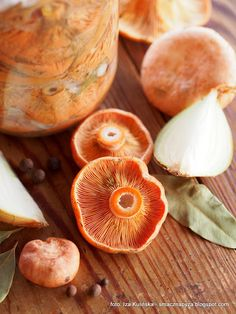 Pickles, Food To Make, Stuffed Mushrooms, Food And Drink, Jar, Vegetables, Drinks, Polish Food, Canning