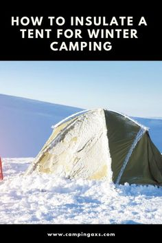 Cold weather camping is a bit trickier than summer camping. Do you know how to insulate a tent for winter camping? Do you even know the best way to stay warm when camping in the winter? This guide takes you through the cold weather camping checklist of te Camping Hacks, Solo Camping, Camping Supplies, Camping Checklist, Camping Activities, Camping Essentials, Camping Survival, Camping Gear, Outdoor Camping