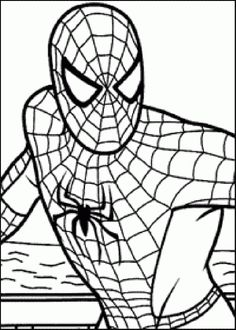 spiderman coloring pages free large images visit to grab an amazing super hero shirt now on sale
