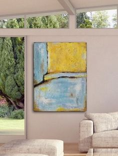 Large Abstract Painting Contemporary Art by ArtbySonjaAlfreider