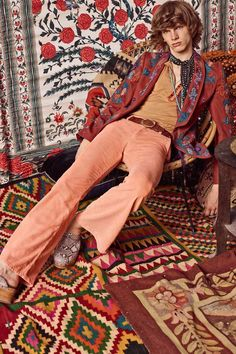 Привет из 70-х! Роскошная очередь шикарных нарядов Roberto Cavalli в lookbook resort 2017 - Ярмарка Мастеров - ручная работа, handmade