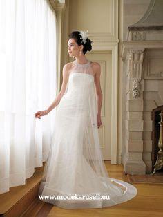 Tüll Brautkleid 2013 Hochzeitskleid  www.modekarusell.eu