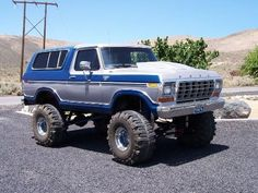 Ford 4x4, Ford Bronco, Car Ford, Ford Trucks, 4x4 Off Road, Personal Taste, Broncos, Monster Trucks, Ford Vehicles