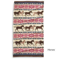 Oversized Southwest Horse Towel - Horse Themed Gifts, Clothing, Jewelry and Accessories all for Horse Lovers | Back In The Saddle