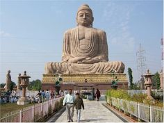 Buddha Statue in Bodhgaya, India