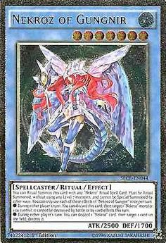 Original Konami YuGiOh Trading Card aus Secrets of Eternity.  SECE-EN044  Nekroz of Gungnir (Nekroz von Gungnir) Seltenheit: Ultimate Rare - 1st Edition  GBA-Code: 74122412 | Jetzt günstig bei eBay kaufen!