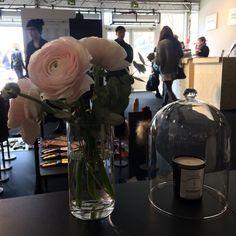 Stand Maison Fabre showroom dans les Jardins des Tuileries gloves gants de Millau