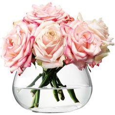 LSA Flower Table Vase ($26) ❤ liked on Polyvore featuring home, home decor, vases, fillers, flowers, lsa international vase e lsa international