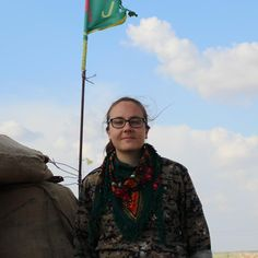 Kimberley Taylor from Blackburn is part of the all-female Kurdish force battling to rout Islamic State. Driving them on is the chance to free women enslaved by the extremists: 'It starts with fighting Daesh, then the mentality of the male'