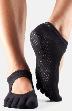 For Pilates?? ToeSox 'Bella' Full Toe Gripper Socks available at #Nordstrom