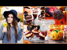 Halloween♡ DIY ♡ВКУСНЯШКИ, СВЕЧИ ♡ своими руками ♡ хэллоуин - YouTube