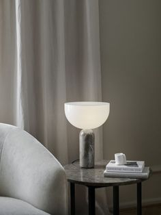 Kizu Table Lamp Spring NEWS 2021 neutral décor with earthy tones from Danish Design Brand New Works Studio