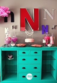 Great way to have a dresser, TV stand, and bookcase -- all-in-one!