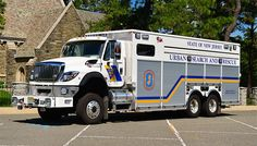 New Jersey State Police KME USAR Heavy Rescue Squad.