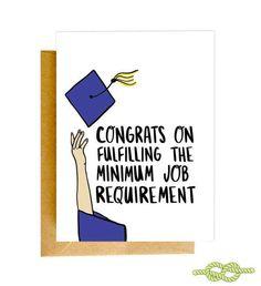 Funny Graduation Card, Graduation Card, Funny Congrats Card, Grad Card, College Graduation Ca… - graduation invitation