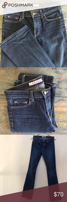 J Brand mid-rise boot cut jeans NWOT Brand new, dark wash, J Brand boot cut jeans. 33 inch inseam with a 9 inch rise. New without tags. J Brand Jeans Boot Cut
