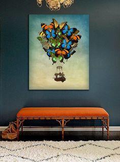 Wanddeko - Bild auf Leinwand - ein Designerstück von Ortons bei DaWanda Designer, Etsy, Wall Canvas