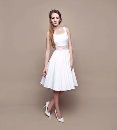 Szyjemy Sukienki amelie Dresses For Work, Formal Dresses, Wedding Dresses, Wedding Gloves, Hair Decorations, White Dress, Gowns, Bride, Unique