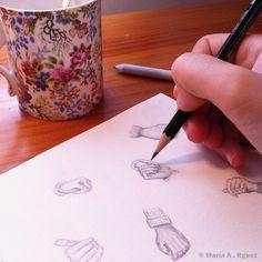 Give me a pencil and I'll be happy.  #Dibujo #lápiz #Dibujoalapiz #Lapiz