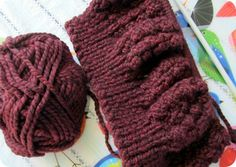 How to Knit an Easy Beanie Hat with Straight Needles  ea48182532c