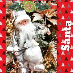 Llegó Santa a La Mercería de Mía!!#lamerceriademia #santa #musical #navidad #navidad2016 #home #santaclaus #instaphoto #birddesign #instalove #  #invierno #inspiration #inspiración #christmas #uruapan #michoacan #mexico #homesweethome #morelia  #decoración #casa #photoofday #xmas #merrychristmas #interiordesign #christmasideas #decoracionnavideña #christmasdecorating #plata