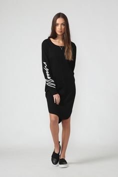 ultimate honour dress / black by Moochi. Everyday luxury, from off-duty essentials to coveted designer pieces. Aw 2017, Off Duty, Dress Black, Shirt Dress, Stuff To Buy, Shirts, Dresses, Style, Fashion