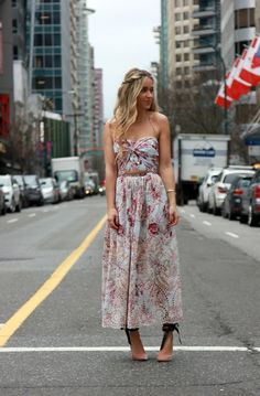 Zimmermann Dress, Jimmy Choo Heels, Tiffany & Co Jewels Valentine's Day is just around the corner, so I wanted to share a few of my favourite pieces from Tiffany's & Co that make the perfect gift or treat for yourself! I love Tiffany's pieces because they can be styled so beau
