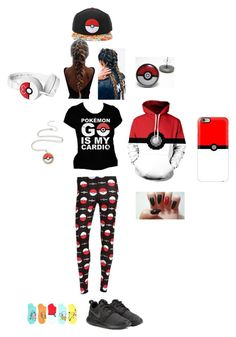 """""""Pokemon GO lifestyle!!!"""" by queennakayla08 ❤ liked on Polyvore featuring Casetify and NIKE"""