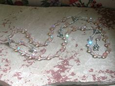 Aphrodite Prayer Beads: Greek Goddess of Love and Beauty by HearthfireHandworks on Etsy