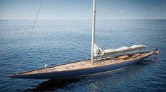 yacht a voile  en bois | Spirit Yachts et Sparkman et Stephens collaborent pour créer le plus ...