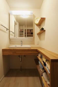 専門家:スタイル工房が手掛けた、洗面脱衣所(T邸・休日はおうちカフェで・・・)の詳細ページ。新築戸建、リフォーム、リノベーションの事例多数、SUVACO(スバコ)