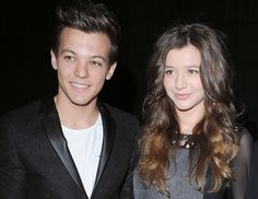 Louis Tomlinson and Eleanor Calder. Such a Beautiful Couple!!!