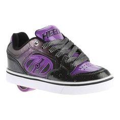 Children's Heelys Motion Plus Roller Shoe Black//Galaxy