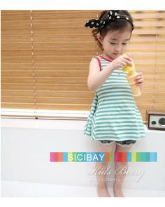 Aliexpress.com : Buy Free Shipping Baby Striped Dress Cute Girl Summer Lace Dress,5pcs/lot K0504 from Reliable Girls Summer Dress suppliers on Children's Clothing Wholesale Center