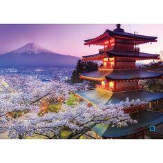 Jigsaw Puzzle Glue, Jigsaw Puzzles, Monte Fuji Japon, Dragons, Mont Fuji, Ravensburger Puzzle, Pilgrimage, Airplane View, Wall Art