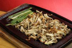 O tradicional Shimeji na Manteiga