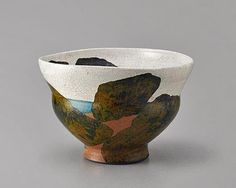 'Intangible Bay' ceramic cup by Wayne Higby