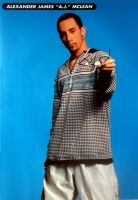 BACKSTREET BOYS - Poster - 13 - Alexander James A.J. McLean - 1996