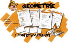 CM Géométrie 1 : Code et Vocabulaire - Bout de gomme