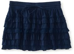 #Aeropostale              #Skirt                    #Solid #Tiered #Skirt     Solid Tiered Skirt -                                http://www.seapai.com/product.aspx?PID=380774