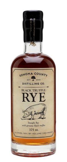 SONOMA COUNTY BLACK TRUFFLE RYE, California, USA