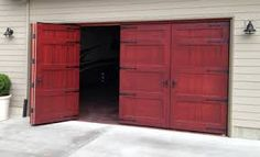 bi fold swing garage doors - Google Search