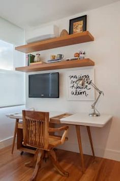 MS apartment: Escritórios por Studio ro+ca